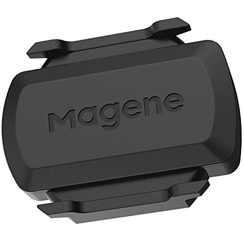 Magene S3 + Geschwindigkeitssensor und Trittfrequenzsensor, ANT+ und Buletooth 4.0 Drahtloser Fahrraddrehzahlsensor RPM Fahrradcomputer