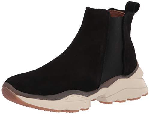 Aquatalia womens Classic Low Top Sneaker, Black, 9.5 US