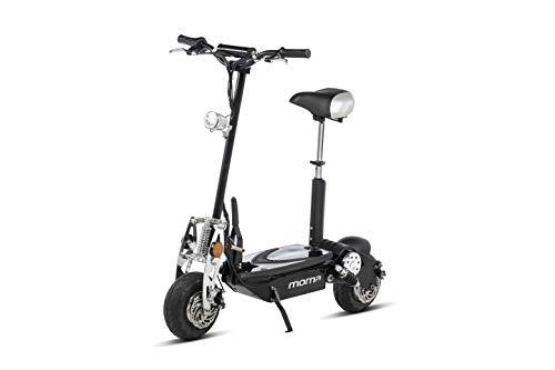 """Moma Bikes Patinete Eléctrico Plegable Urbano 1000W ruedas 10"""", 42km/h Autonomía 20km"""