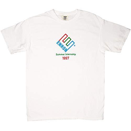 Enron 1997 Summer Internship T-Shirt (White, Small)