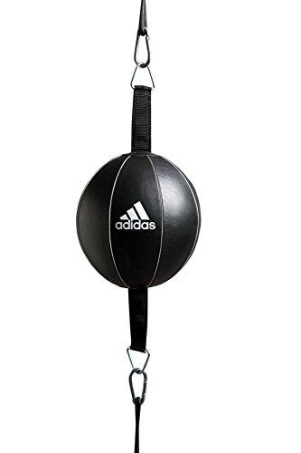 adidas Boxeo Piel Doble Final Velocidad Caja Bola–un tamaño, Negro