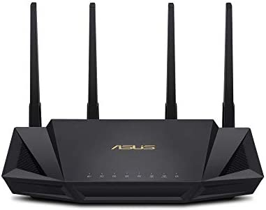 ASUS WiFi 6 Router RT AX3000 Dual Band Gigabit Wireless Internet Router Gaming Streaming AiMesh product image