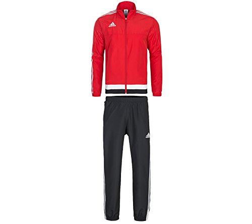 adidas Herren Trainingsanzug Tiro 15, Power Red/White/Black, 2XL