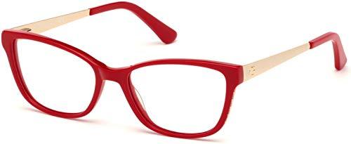 Guess Gafas anteojos GU2721 066 marco rojo de plástico del tamaño de 54 mm de gafas de sol de las mujeres