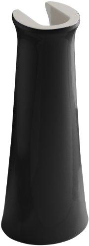KOHLER K-2364-7 Cimarron Bathroom Sink Pedestal, Black Black