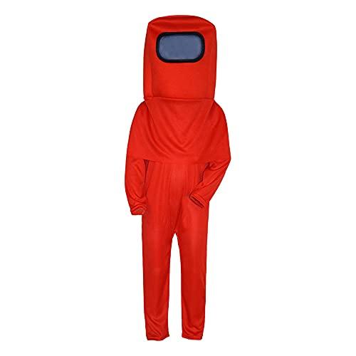 enheng Disfraz de Astronauta para niños, Mono Espacial con Mochila con Capucha, Traje de Cosplay de Halloween para niños y niñas de 4 a 9 años