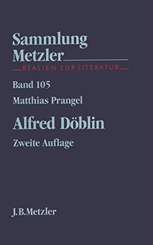 Alfred Döblin (Sammlung Metzler)