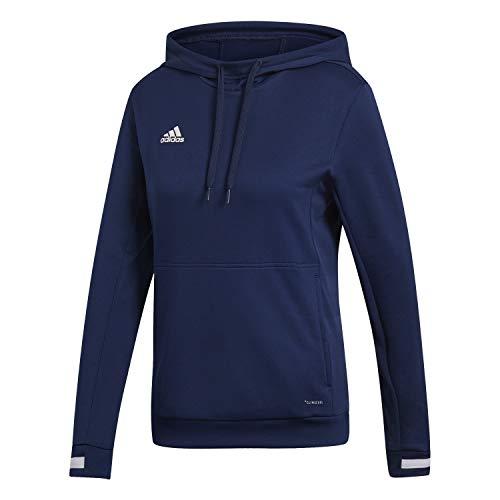 adidas T19 Hoody W Sudadera, Mujer, Team Navy Blue/White, M