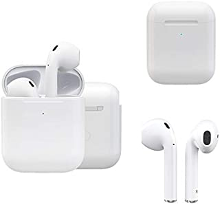 Wireless Earbuds Second Generation i27 - Active Noise Reduction (24 Hrs Charging Case), 3D Stereo IPX5 Pop-ups Auto Pairing Fast Charging for Earphones for Samsung Android iPhone,etc.