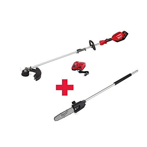 Check Out This Milwaukee M18 FUEL 18-Volt Lithium-Ion Brushless Cordless String Trimmer Kit with M18...