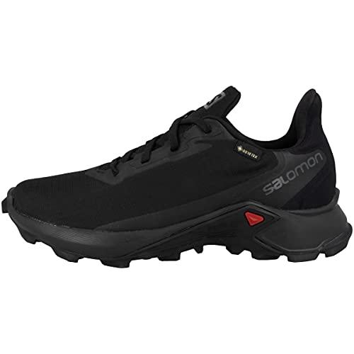 Salomon Alphacross 3 Gore-Tex (impermeabile) Donna Scarpe da trail running, Nero (Black/Black/Black), 39 ⅓ EU