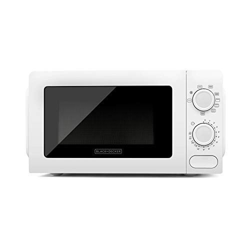 BLACK+DECKER ES9700070B BXMZ700E Micro-ondes avec grill, 900 W, 20 liters, Blanc