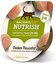 Rachael Ray Nutrish Natural Wet Cat Food, Chicken Purrcata Recipe, 2.8 Ounce Cup (Pack of 24), Grain Free