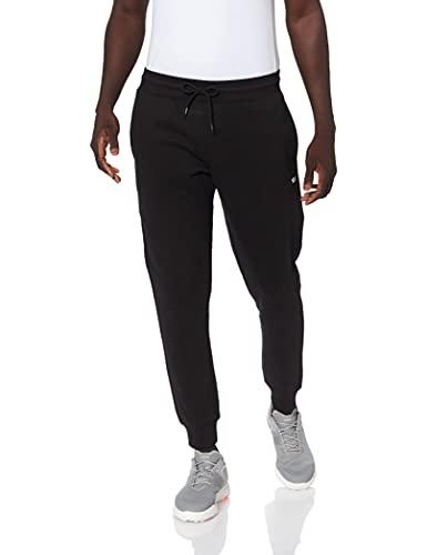 Tommy Jeans Tjm Slim Fleece Sweatpant Pantaloni da Tuta, Nero, M Uomo