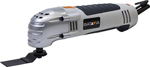 Batavia 7062387 300W multitool inclusief 19 stuks. Accessoires, 300 W, grijs/oranje.