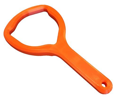 Geschirrspüler-Salzdeckelschlüssel (für Baumatic, Kenwood, Rangemaster und andere kompatible Maschinen) zur einfachen Entfernung von festsitzenden Spülmaschinen-Füllkappen