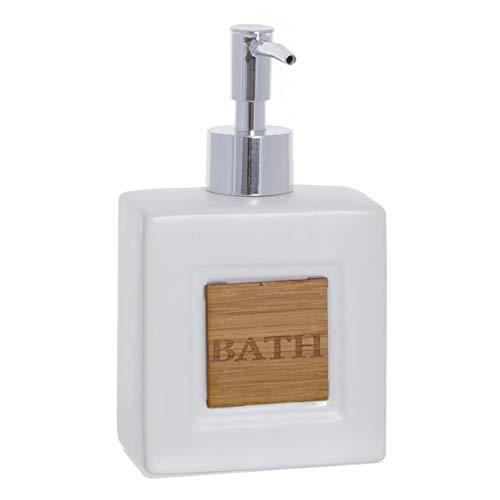 Vidal Regalos Dispensador Jabon Bath Blanco