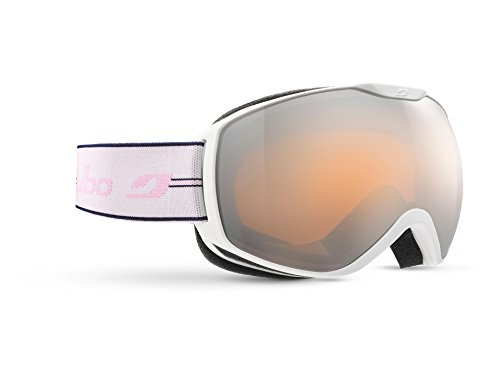 Julbo ISON dames skibril, wit/blauw/roze, L+