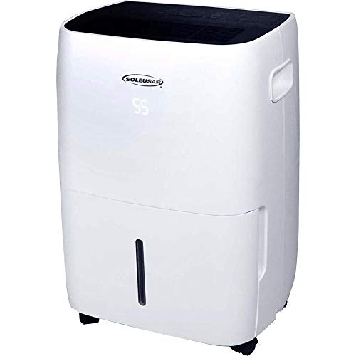 Soleus Air 45 Pint Dehumidifier with MyHome Mode and Mirage Display
