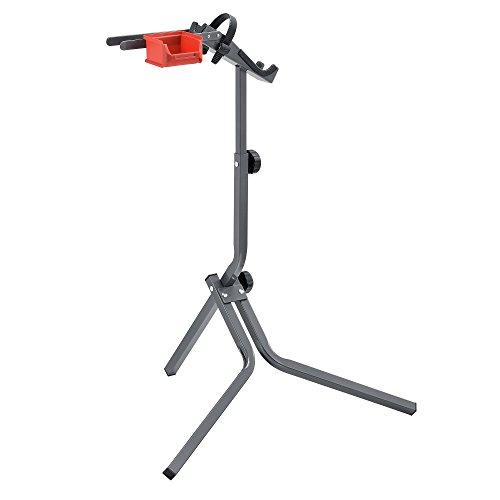 [neu.haus] Fahrrad Montageständer aus Metall 360° Verstellbar Reparaturständer Fahrradständer 72 x 27 x 8cm Rad Montage - 3