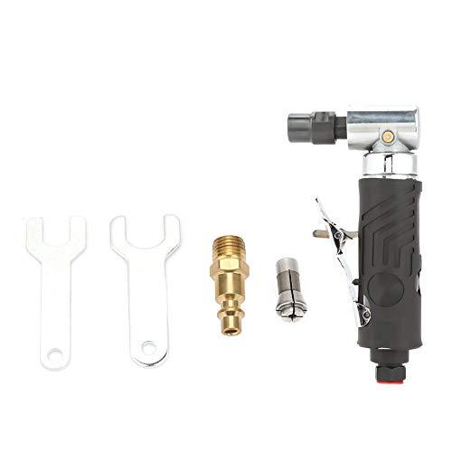 Hyuduo Ag-315 1 / 4Bsp Amoladora Angular de 90 Grados Herramientas Neumáticas Profesional Molinillo de Molienda de Aire Máquina de Molienda Mini Compresor de Aire