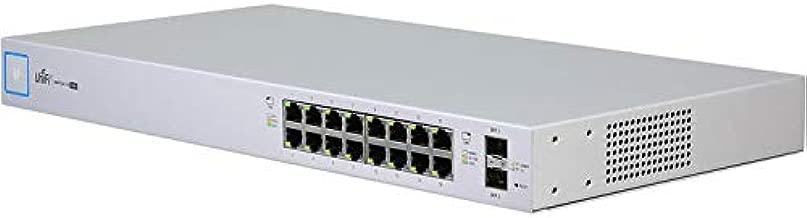 UBNT Systems UniFi Switch 16-Ports US-16-150W Switch Managed PoE+ Gigabit Switch with SFP 150W
