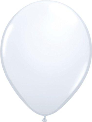Folat 08171 weiße Ballons 30cm-10 Stück