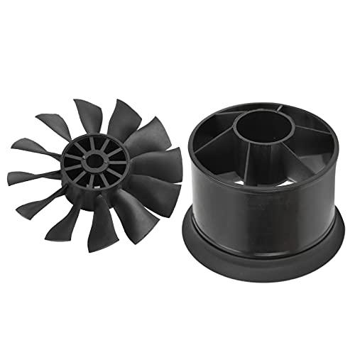 Voluxe Ventilador conducto RC, ventilador conducido para motor sin escobillas 50mm ventilador conducido para la mayoría de los planos RC para 3300/4000/4600/5000KV Motor (remo positivo)