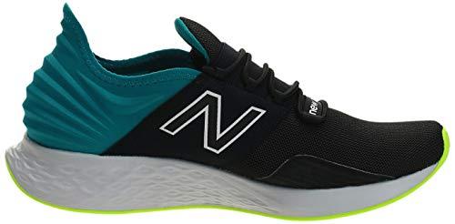 New Balance Men's Fresh Foam Roav' Road Running Shoe, Black, 17.5 UK
