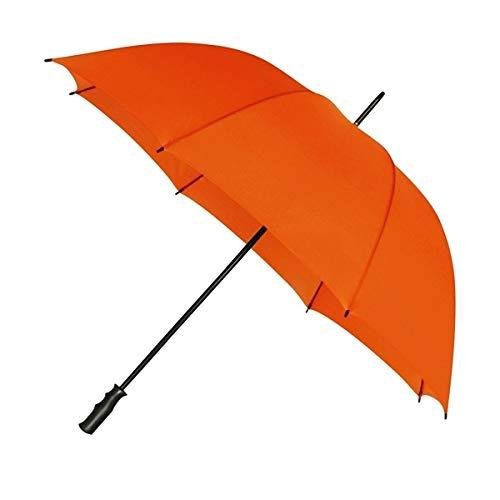 Impliva - Paraguas de Golf (125 cm), Color Naranja