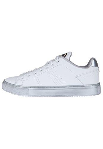 Colmar Donna, Bradbury Harmony 153 White Silver, Pelle, Sneakers, Bianco, 36 EU