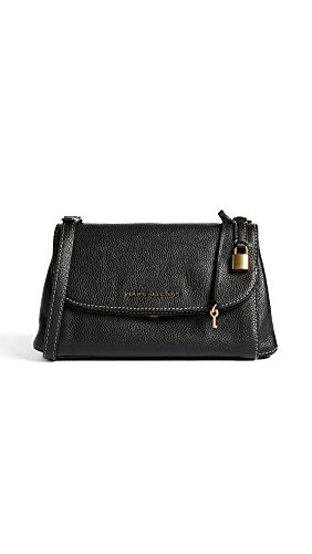 Marc Jacobs Women's Boho Grind Shoulder Bag, Black/Gold, One Size