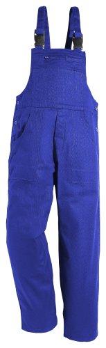 Salopette en pur coton sanforisé Différentes couleurs et tailles disponibles, 54, Bleu Hydron