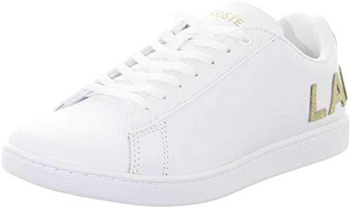 Lacoste Carnaby EVO 120 6 Us SFA, Zapatillas Mujer, Color Blanco, 421 g, 38 EU