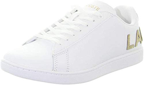 Lacoste Carnaby Evo 120 6 Us SFA, Sneaker Donna, Bianco (Wht/Wht 21g), 36 EU