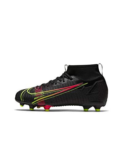 Nike Mercurial Superfly 8 Academy FG/MG, Scarpe da Calcio, Black/Black-Iron Grey, 33 EU