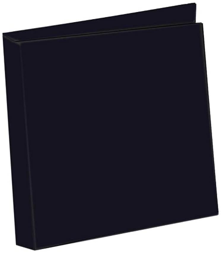 Zutter 7596 Curved Spine Cover-all for 4 by 6-Inch Page Protectors, Black