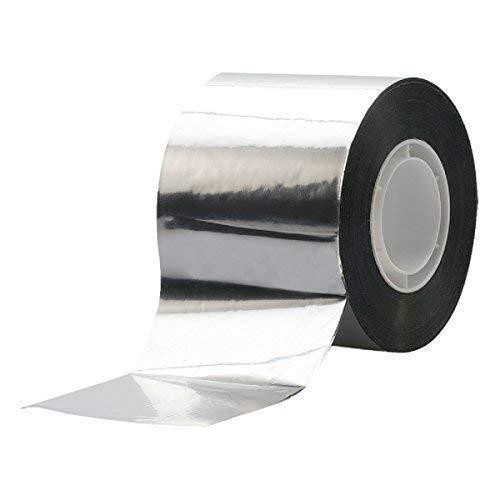 Alu-Klebeband, 50mm x 50m Aluband selbstklebend Aluminiumband