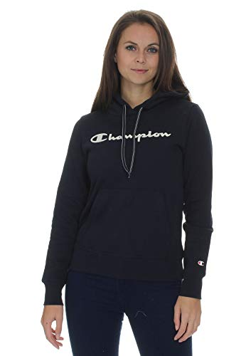 Champion Women Hoodie Hooded Sweatshirt 113207, Couleur:Blue (NNY), Taille:L