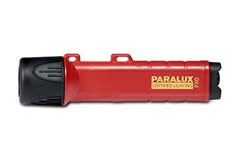 Parat Hochleistungslampe PARALUX PX0 (LED, Kompatibel mit PARASNAP und nahezu allen Helmhalterungen, Material: Polycarbonat; wasserdicht; rot, mit Batterien)