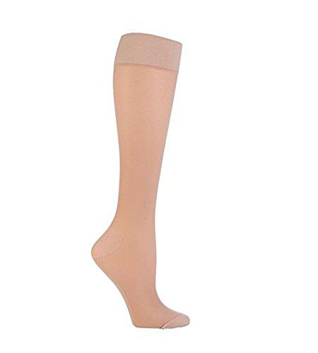 Sock Shop - Mujer calcetines medias de compresion vuelos para viaje en 2 colores