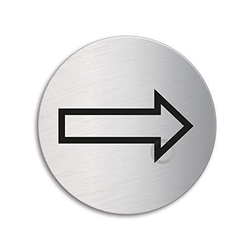 OFFORM Señal pictograma en acero inox Ø 75mm No.8487