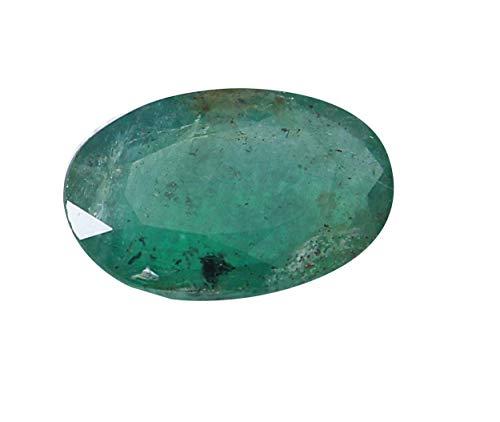 Jaipur Gems Mart certificato 2.90Cts sfaccettato ovale forma di taglio Pezzo buon lustro dello Zambia naturale smeraldo Panna pietra preziosa allentata per Ring Jewelry Formato 12 x 7,90 x 4,30 mm