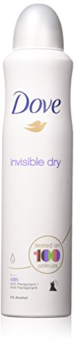 Dove (2 PACK) Dry Spray Antiperspirant 48 hours, (Invisible Dry) 5oz