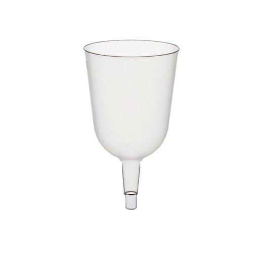 Papstar bovenstuk voor steelglazen/rode wijn, transparant (50 stuks), van kunststof, 0,2 l, diameter 7,3 cm, hoogte 12,5 cm, glasheldere look voor feestjes in de open lucht #12185