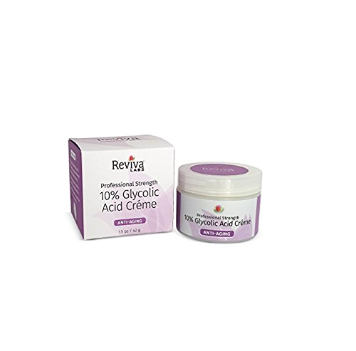 Reviva Labs 10% Glycolic Acid Cream, 1.5 Ounce: Package may vary