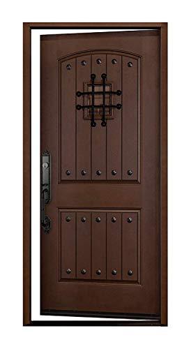 exterior doors Fiberglass Single Door 36