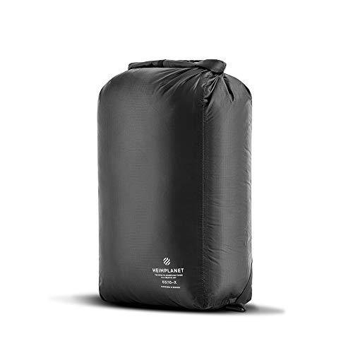 HEIMPLANET Original | Kit Bag 14L - Dry Bag | PVC-FREI | Wasserdichter Packsack mit verstellbaren Rucksackgurten - als Gym Bag tragbar | Material aus leichtem und robustem Ripstop Nylon