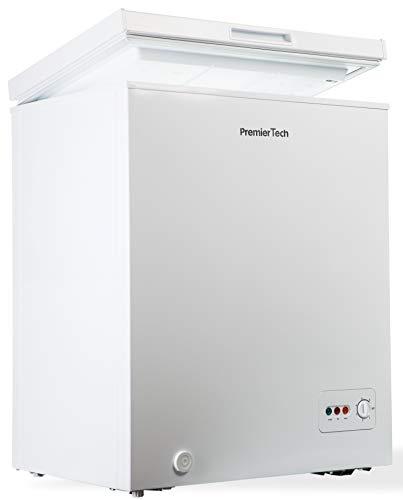 Premiertech Congelatore a Pozzetto 100 litri con cestello -24°gradi A++ 4**** Stelle PT-CP100