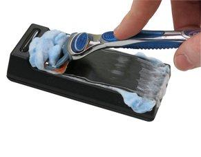 Razor Blade Sharpener BLADE MAGIC 2.0 Cleaner Premium Easy Clean Hassle Free Safe Shaving Cream Prefect for Clean Long Lasting Gillette Fusion Razor Blade Edge